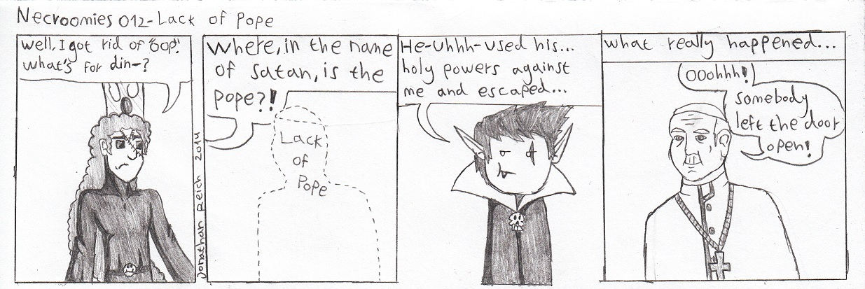 012- Lack of pope